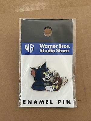Vintage Tom And Jerry 1997 Warner Brothers Studio Store Pins Moc