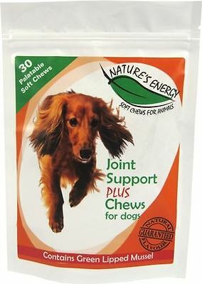 Nature's Energy - Joint Support Plus Chews for Dogs x 30 Pack
