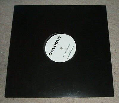 """Coldcut - People hold on    UK PROMO 12"""""""