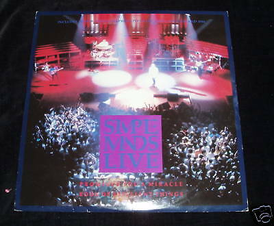 """Simple Minds - Promised you a miracle   LIVE UK 10"""""""