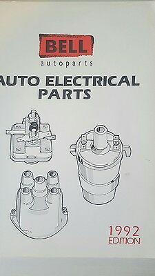 Bell Autoparts...   Ignigtion & Electrical Parts Catalogue 1992