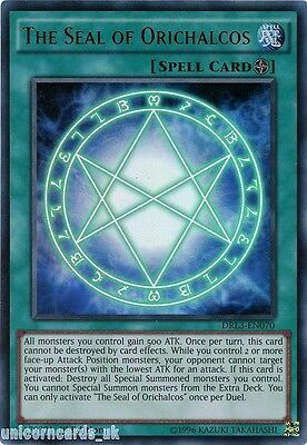 DRL3-EN070 The Seal of Orichalcos Ultra Rare 1st edition Mint YuGiOh Card