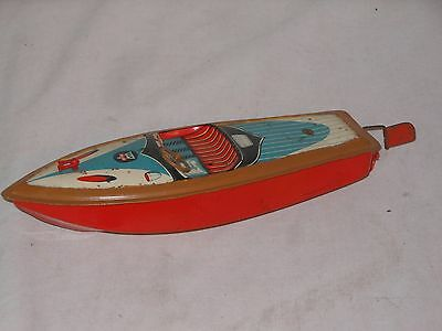 VINTAGE TINTOY - ARNOLD BOOT SCHIFF YACHT - GERMANY - 28 cm