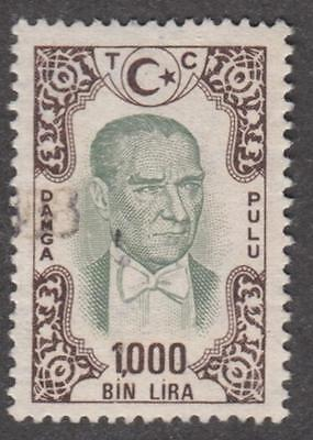Turkey General Revenue McDonald #104 used 1000L 1970 cv $15