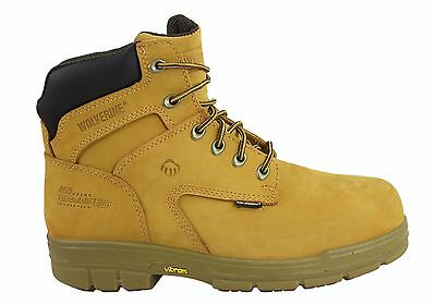 Wolverine Turner 6 Inch Mens Steel Cap Industrial Laceup Safety Boots/comfort