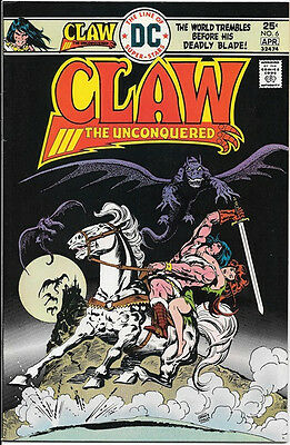 Claw The Unconquered Comic Book #6, DC Comics 1976 VERY FINE