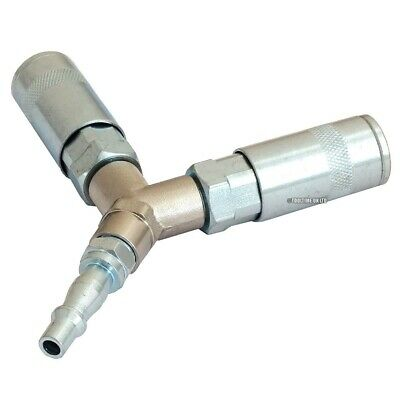 """3 Way Quick Release """"pcl"""" Type Air Line Splitter Y Connector Airline Coupling"""