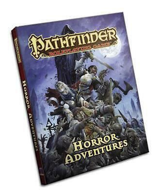 Pathfinder Roleplaying Game: Horror Adventures by Jason Bulmahn (English) Hardco