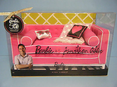 Barbie Jonathan Adler Happy Chic Sofa  *new*