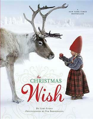 The Christmas Wish by Lori Evert (English) Hardcover Book Free Shipping!