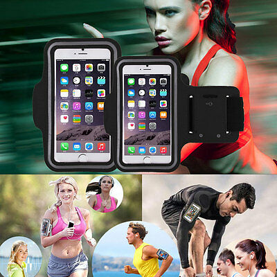 Gym Running Jogging Arm Band Sports Armband Holder Strap For iPhone 6/6S Plus UK