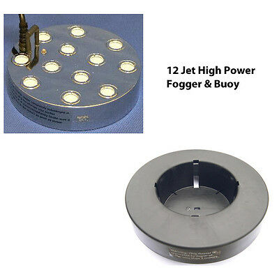 High Power 12 Jet Pond Ultrasonic Fogger Great Mister For Ponds & Water Features