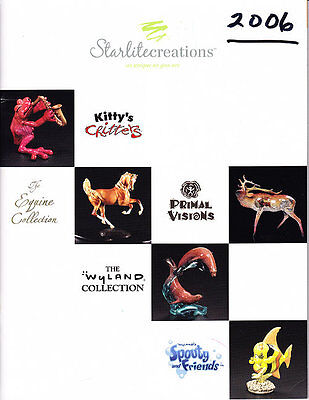 Starlite Creations Catalog 2006 Kitty's Critters More