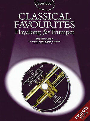Classical Favorites Trumpet Solo Sheet Music Play-Along 11 Pieces Book CD NEW