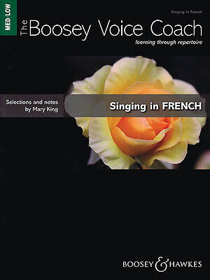 Singing in French Medium/Low Voice Music Lessons Boosey Voice Coach Book NEW