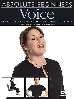 Absolute Beginners Voice Learn Vocal Singing Lessons How To Video DVD NEW