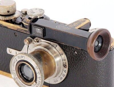 EARLY Leica WINKO Horizontal Mount Right Angle Viewfinder by LEITZ Wetzlar 1929