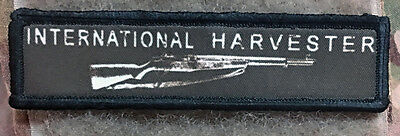 1x4 international Harvester M1 Garand Patch Tactical Military Army Badge Hook