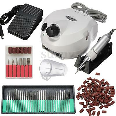 30000Rpm Electric Acrylic Nail Art Tips Drill File Bits Machine Manicure Tool