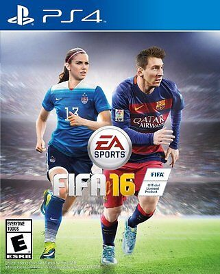 Fifa 16 Ps4 New Sealed! World Cup, 2016 Soccer, Lionel Messi, Football