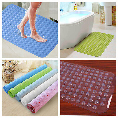 Extra Large Anti Rubber Non Slip Bathroom Bath Shower Mat Suction - Foot Massage