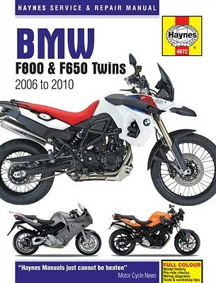 BMW F800 (including F650) Twins Service and Repair Manual: 2006 to 2010 (Haynes.