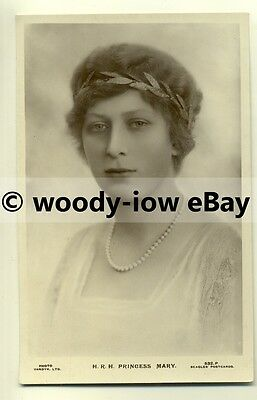 r0099 - Princess Mary , daughter of King George V - postcard