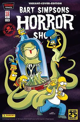 BART SIMPSONS HORROR SHOW # 18 VARIANT - Lim. 888 Ex. - COMIC ACTION 2014 - TOP