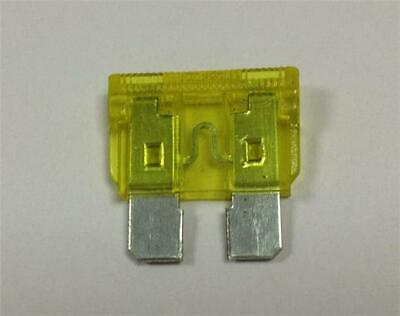 Car Spare 100x Standard Blade Fuses 20 Amp For Safety Safeguard Uses