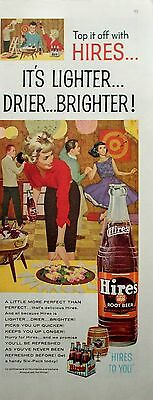 1960 Hires Root Beer Teen Dance Party Records Dartboard ad