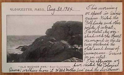Old Mother Ann, East Gloucester, Mass. 1904 Undivided Back, Unposted