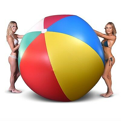GoFloats Giant Inflatable Beach Ball, 6 FT