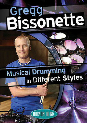 Gregg Bissonette Musical Drumming Different Styles Drum Lessons Video 2 DVD NEW