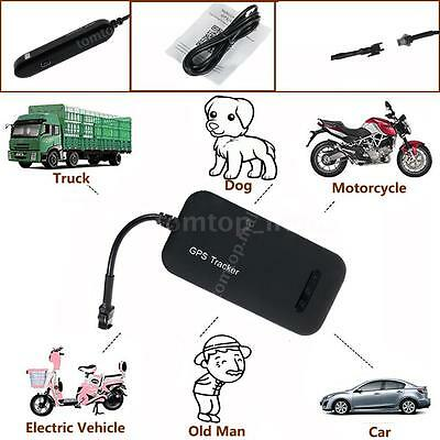 GPS Realtime Tracker Car Motorcycle Tracking Device System GSM GPRS Locator N4Q2