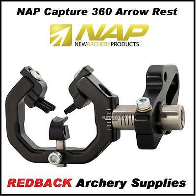 NAP Capture 360 arrow rest Right handed for compound bows archery