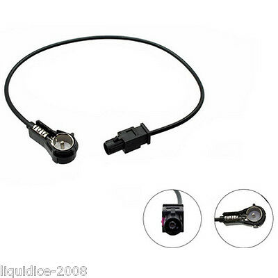 Bmw X5 2001 Onwards Fakra - Iso Aerial Antenna Adapter Lead For Car