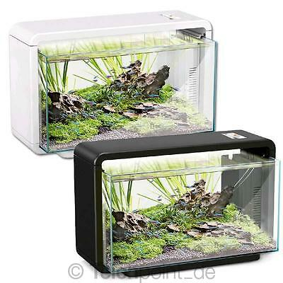 HAILEA E25 Nano Aquarium Set mit LED für Aquascaping 25 Liter Becken