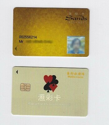 China Macau Grand Lisboa Casino Hotel slot Card Jade RARE