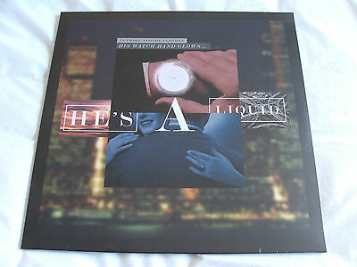 "Vinyl 12"" Single: John Foxx : He's A Liquid : Sealed"