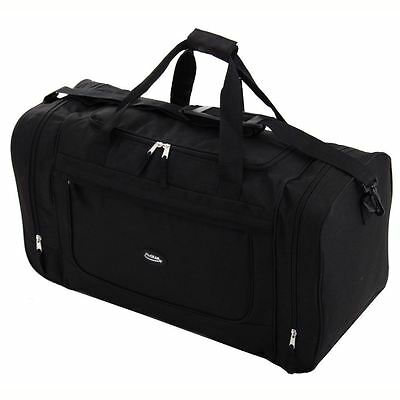 Large Sports Gym Travel Golf Weekend Luggage Holdall Duffle Fishing Bag