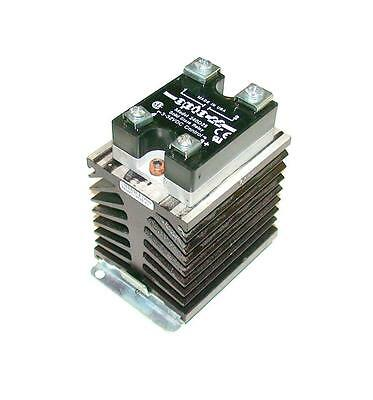 Opto 22  240D25  Solid State Relay W/heatsink 25 Amp 240 Vac