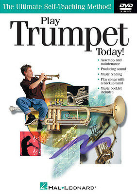 Play Trumpet Today! Beginner Lessons Learn How to Play Video Hal Leonard DVD NEW