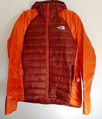 The North Face Men's IRONDOME 700 Pro Down Insulated Mid-Layer IRON Jacket M Red