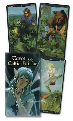 Tarot of the Celtic Fairies by Lo Scarabeo (English) Cards Book Free Shipping!