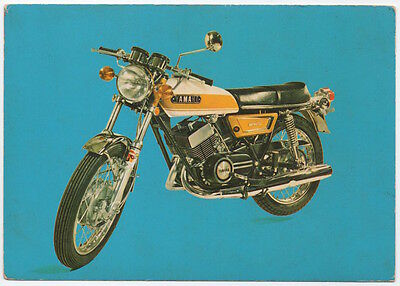 Advertising Postcard Yamaha 250 Motorcycle~107413