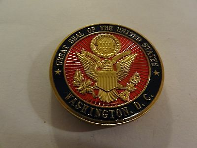 Challenge Coin Washington D.c. U.s. Capitol Great Seal Of The United States