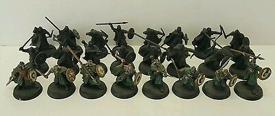 24 x Warriors of Rohan 8 x well painted LOTR The Hobbit plastic models