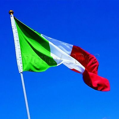 Italian National Flag 3*5ft Fans Supporters Polyester Italian National Banner