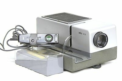 Braun D 35 Diaprojektor Slide Projector m. Will-Wetzlar Maginon 1:2.8 85mm Optik