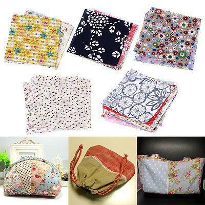 50pcs/Set 10x10cm Square Cotton Fabric Patchwork Cloth Quilting DIY Craft Sewing